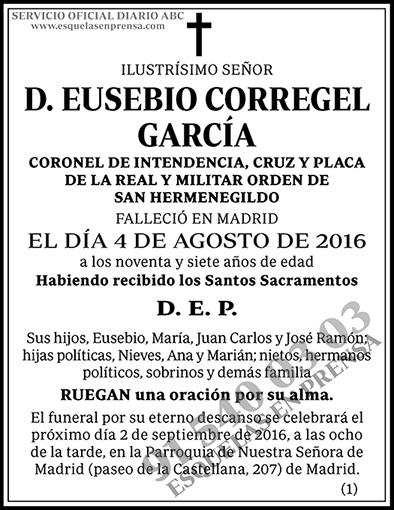 Eusebio Corregel García